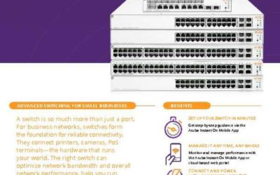 Introducing Aruba Instant On Switches