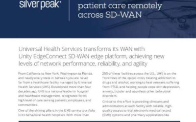 Healthcare services provider ramps up telehealth to deliver patient care remotely across SD-WAN