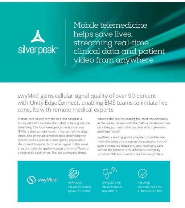 Mobile telemedicine helps save lives, streaming real-time clinical data and patient video from anywhere